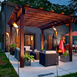professional wood pergola installation and design cape town