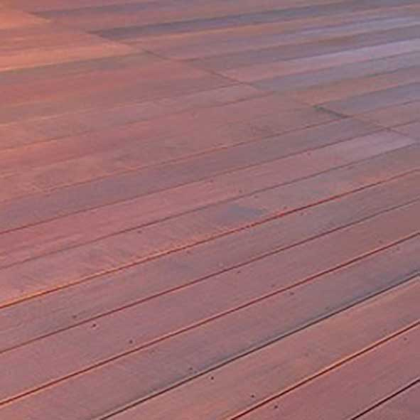 massaranduba wood decking